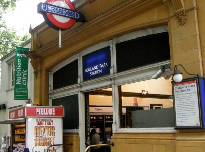 Holland Park Station upgrade image