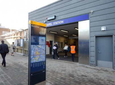 Whitechapel Station Temporary Ticket Hall image